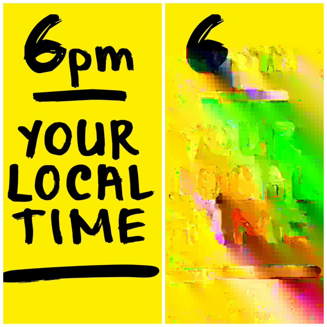 6PM YOURLOCALTIME