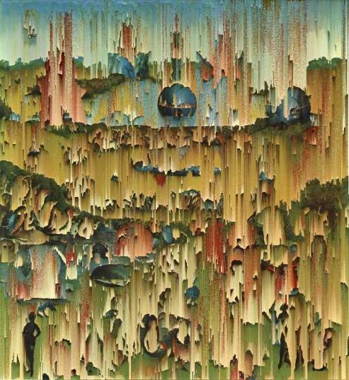 Il Giardino delle delizie. Hieronymus Bosch. Art Icon Glitch //2